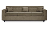 Dolphin Solitaire Fabric 3+1+1 Seater Sofa set-Grey