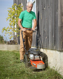 DR TR4 8.75 B & S Pro Electric Start Trimmer Mower - DR Machines - 5