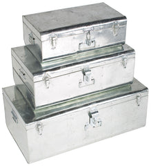 SET DES 3 VALISES - ZINC