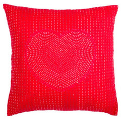 COUSSIN COEUR ROUGE