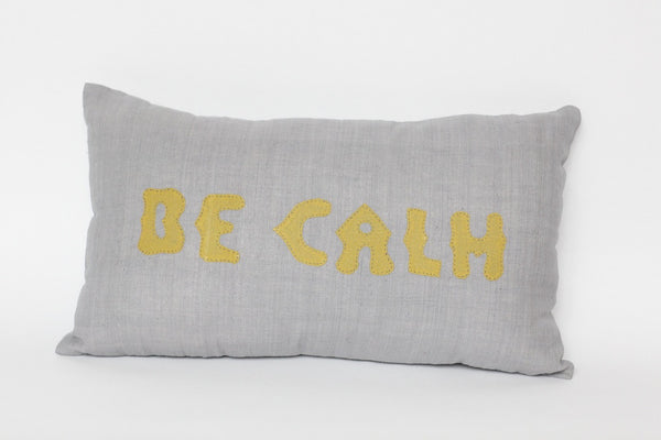 COUSSIN 'BE CALM'