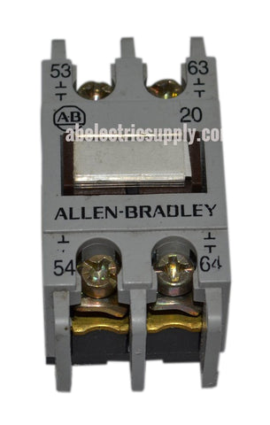 Allen Bradley 195-FA20 Ser A AUXILIARY CONTACT