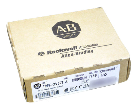 Surplus Never Used Sealed Allen Bradley CompactLogix Sinking Output  1769-OV32T Ser A 2 QTY