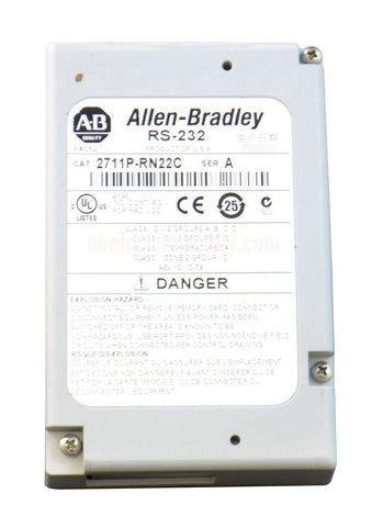 Allen Bradley Panelview Plus Communication Module  2711P-RN22C Ser A