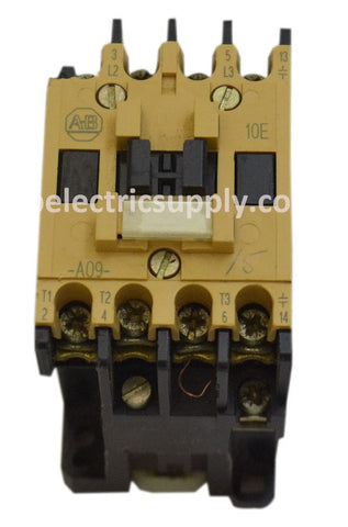 Allen Bradley 100-A09ND3 Contactor 9 Amp 600 VAC 7.5 HP 120 V Coil