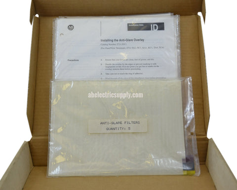New Allen Bradley 2711-NV1 PANELVIEW 1200 AND 1200E ANTI-GLARE SCREEN OVERLAY