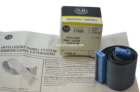 New Allen Bradley 2700A-R1 Ser A RIBBON CABLE EXTENSION In Original Packaging