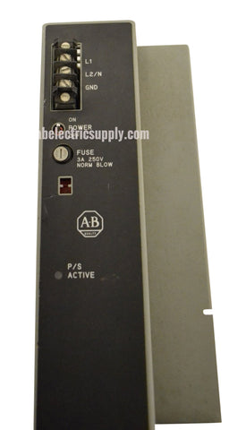 Allen Bradley 1771-P7 POWER SUPPLY MODULE 5VDC OUT