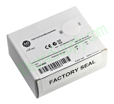 NEW Surplus SEALED Safety Sink Input Allen Bradley 1734-IB8S Ser A FW 1.2 24vDC