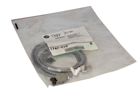 NEW Surplus Allen Bradley 1747-C10 Ser B CABLE FOR PROCESSOR TO PERIPHERAL