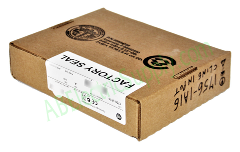 NEW Surplus SEALED Allen Bradley ControlLogix 16 Point D/I Module 1756-IA16 Ser