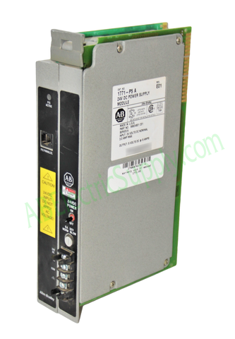 Allen Bradley 1771-P5 Ser A 24 VDC Power Supply Module