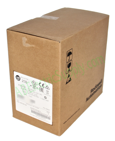 NEW Surplus SEALED Allen Bradley 25B-V6P0N104 Ser A PowerFlex 525 AC Drive