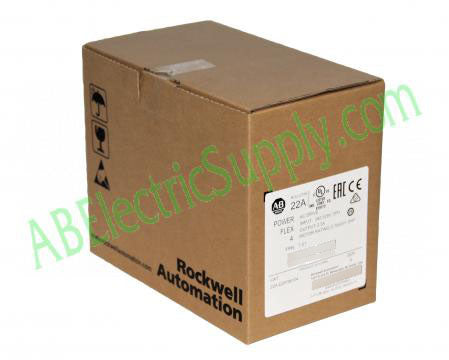 1562314833991 New Surplus Sealed Allen Bradley PowerFlex 4 22A-D2P3N104 Ser A QTY