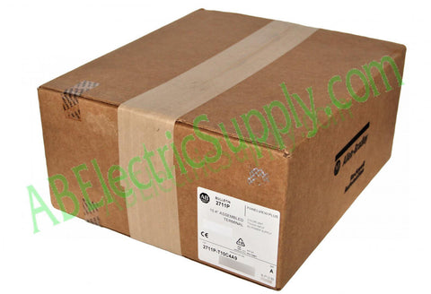 New Surplus Sealed Allen Bradley Panelview Plus 6 2711P-T10C4A9 Ser A QTY