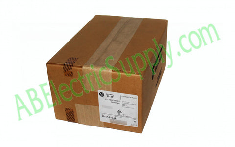New Surplus Sealed Allen Bradley PV Plus 700 2711P-B7C4A1 Ser A ***READ***