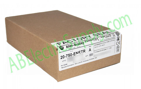 Surplus Never Used Sealed Allen Bradley A 20-750-ENETR Ser A QTY
