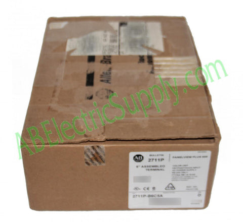 New Surplus Open Allen Bradley Panelview Plus 6 2711P-B6C5A9 Ser D
