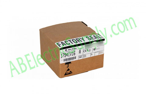 Surplus Never Used Sealed Allen Bradley Input Module PLC 1794-IV16 Ser A QTY