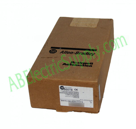 New Surplus Open Allen Bradley D 855TE-DM1B24Y7Y3Y4 Ser D