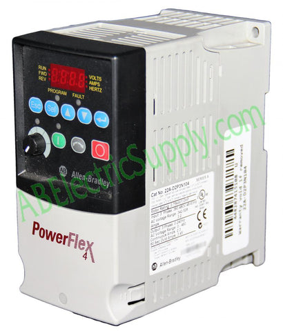 Allen Bradley - Drives PowerFlex 4 22A-D2P3N104 Ser A QTY