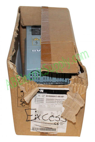 4292770005063 New Surplus Open Eaton Cutler-Hammer SVX 9000 Drives SVX006A1-4A1B1 QTY