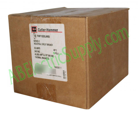 4330613440583 New Surplus Sealed Eaton C FWF1020LM05 - QTY 10 Ser C