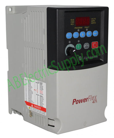 Allen Bradley - Drives PowerFlex 40 22B-A8P0N104 Ser A