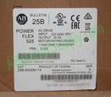 New Surplus Open Allen Bradley PowerFlex 525 25B-D030N114 Ser A