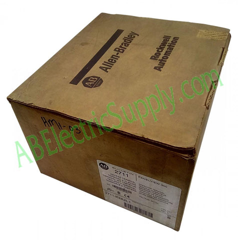 New Surplus Open Allen Bradley - HMI Panelview 300 2711-K3A2L1 Ser B