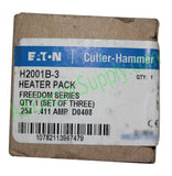 New Surplus Open Eaton Cutler-Hammer Heater Coil H2001B-3