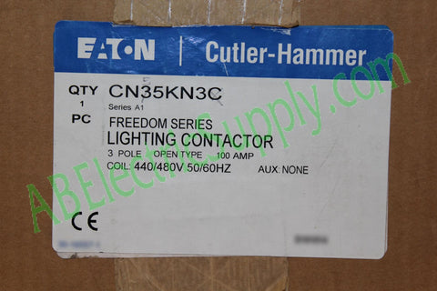 New Surplus Open EATON  Contactor CN55KN3 Ser A1