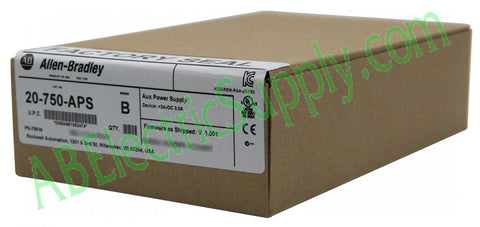 New Surplus Sealed Allen Bradley Power Supply 20-750-APS Ser B