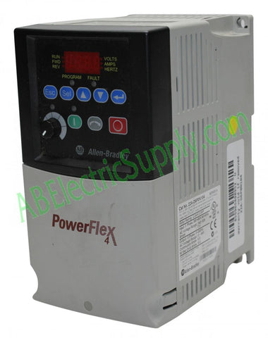 Allen Bradley - Drives PowerFlex 4 22A-D6P0N104 Ser A QTY