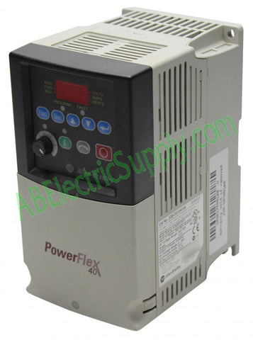 Allen Bradley - Drives PowerFlex 40 22B-D010N104 Ser A