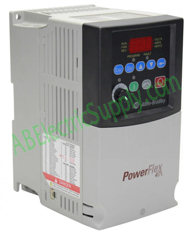 Allen Bradley - Drives PowerFlex 40 22B-B2P3N104 Ser A