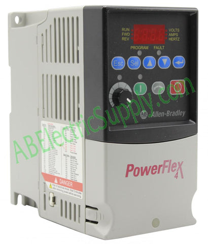 Allen Bradley - Drives PowerFlex 4 22A-A4P5N114 Ser A
