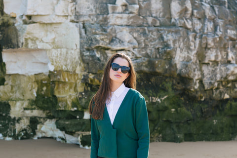 Holi Oversized Blazer Forest Green
