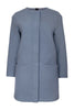 Modern Duffle Coat - Grey
