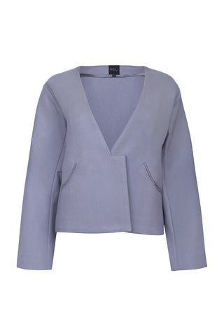 Oversized Blazer - Charcoal Grey
