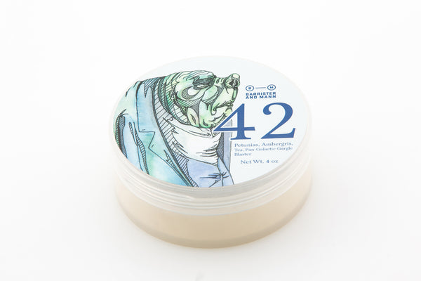 Barrister and Mann – 42 Shaving Soap