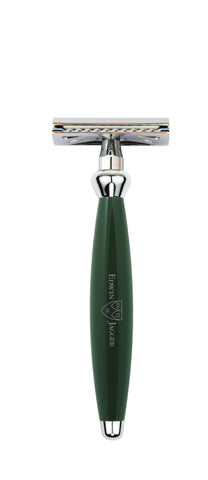 Edwin Jagger – Bulbous Green Double Edge Razor