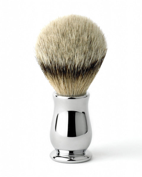Edwin Jagger – Chatsworth Chrome Silver Tip Shaving Brush