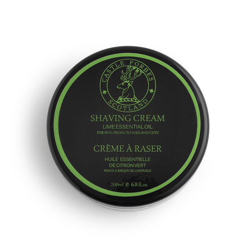 Lime Shave Cream