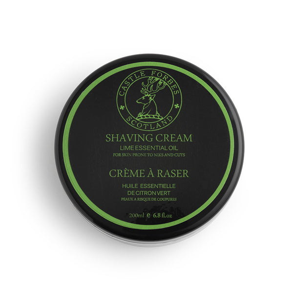 Castle Forbes – Lime Shaving Cream
