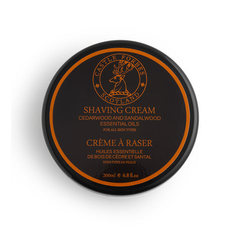Castle Forbes – Cedarwood & Sandalwood Shaving Cream