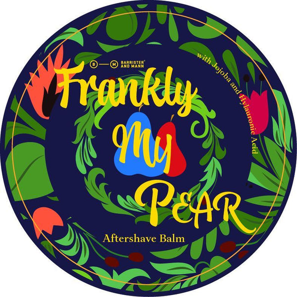Barrister and Mann – Frankly My Pear Aftershave Balm