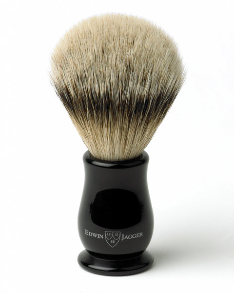 Edwin Jagger – Chatsworth Imitation Ebony Super Badger Shaving Brush