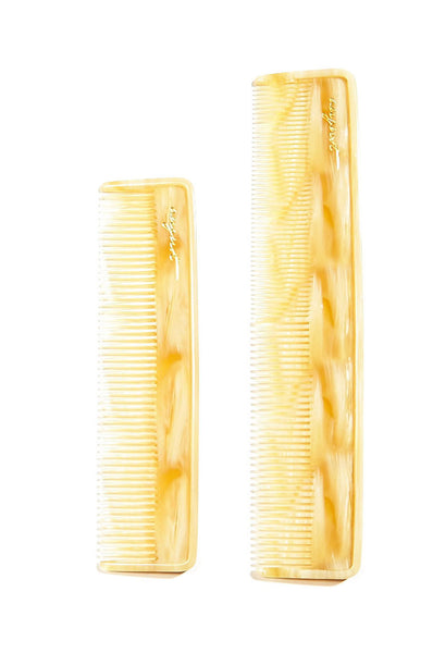 August Grooming – Canal Comb in Ivory
