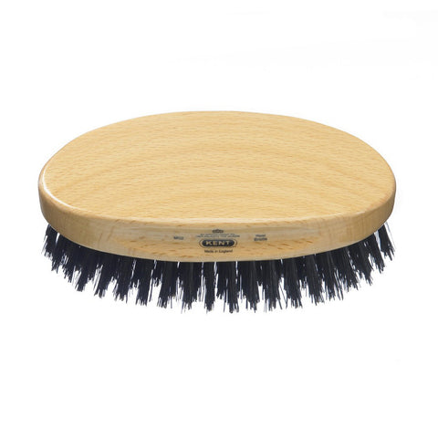 Kent – Military Beech Wood Black Bristle Brush MG2